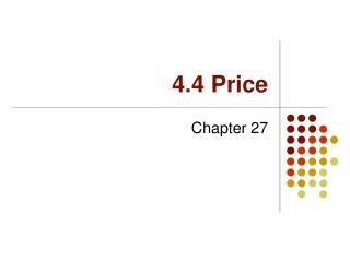 4.4 Price