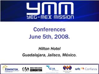 Conferences June 5th, 2008.