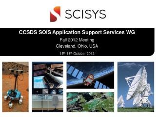 CCSDS SOIS Application Support Services WG