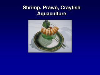 Shrimp, Prawn, Crayfish Aquaculture