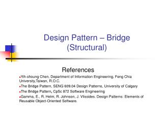 Design Pattern – Bridge (Structural)