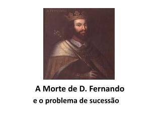 A Morte de D. Fernando
