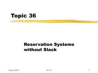 Topic 36