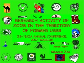 RESEARCH ACTIVITY OF ZOOS IN THE TERRITORY OF FORMER USSR