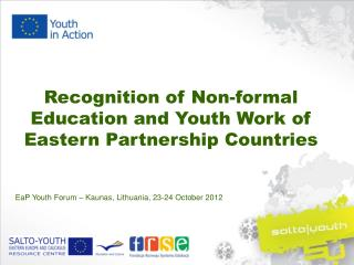 Recognition of Non-formal Education and Youth Work of Eastern Partnership Countries