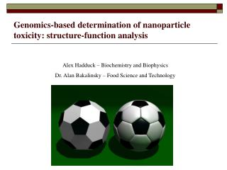 Genomics-based determination of nanoparticle toxicity: structure-function analysis