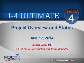 Project Overview and Status June 17, 2014