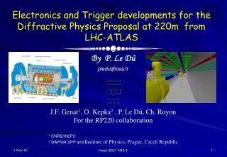 Electronics and Trigger developments for the Diffractive Physics Proposal at 220m  from LHC-ATLAS
