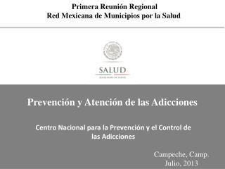 Primera Reunión Regional Red Mexicana de Municipios por la Salud
