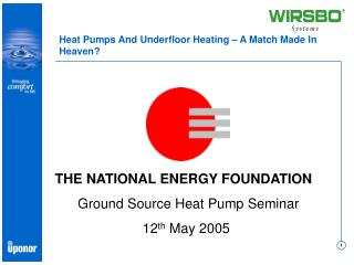 Heat Pumps And Underfloor Heating   A Match Made In Heaven