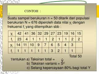 Total 50