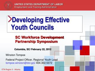 Developing Effective Youth Councils