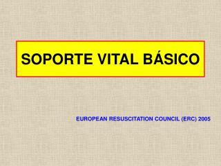 SOPORTE VITAL BÁSICO