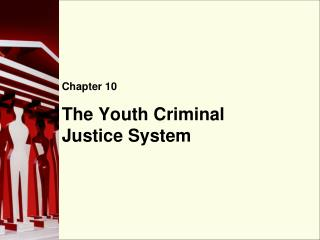 The Youth Criminal Justice System