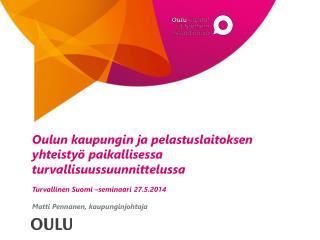 Oulu-Koillismaan pelastuslaitos Alue