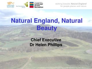Natural England, Natural Beauty