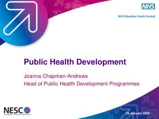 29 January 2009 Public Health Development