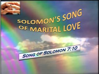 Song of Solomon 7:10