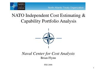 Naval Center for Cost Analysis Brian Flynn PDI 2008