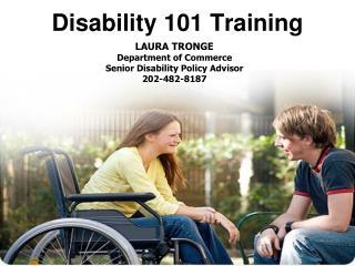 Disability 101 Training