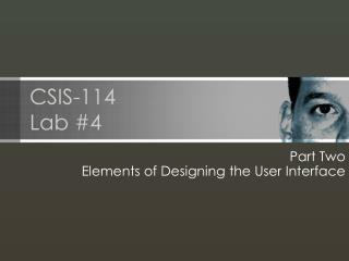 CSIS-114 Lab #4