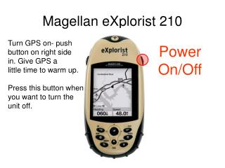 Magellan eXplorist 210