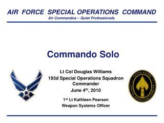 Commando Solo