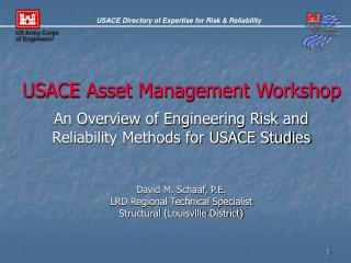 USACE Asset Management Workshop