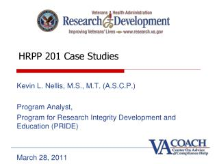 HRPP 201 Case Studies