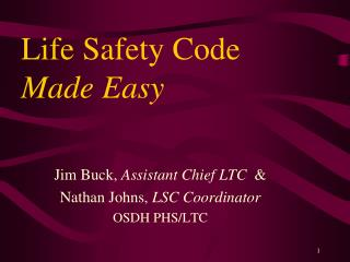 Life Safety Code Made Easy