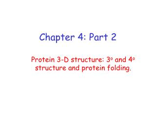 Chapter 4: Part 2