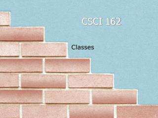 CSCI 162