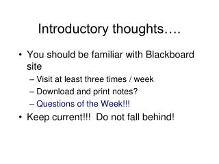 Introductory thoughts�.