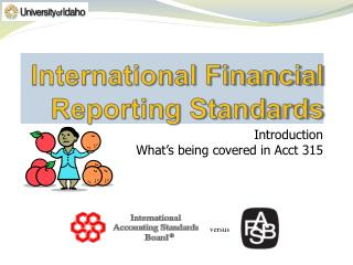 International Financial Reporting Standards