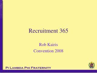Recruitment 365
