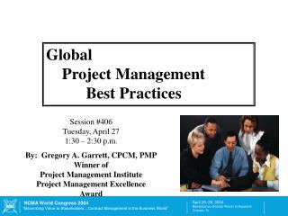 Global      Project Management           Best Practices
