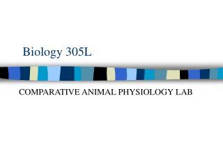 Biology 305L