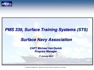PMS 339, Surface Training  Systems  (STS) Surface Navy Association