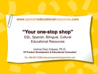 www.spanisheducationalresources.com