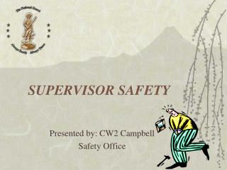 SUPERVISOR SAFETY