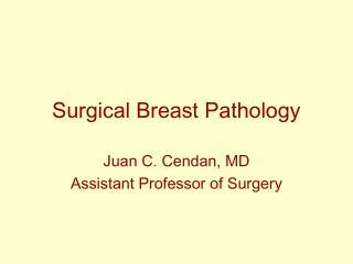 Surgical Breast Pathology