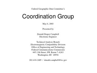 Federal Communications Commission Operating Authority
