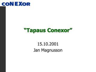 Tapaus Conexor