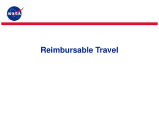 Reimbursable Travel
