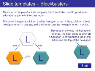 Slide templates   Blockbusters