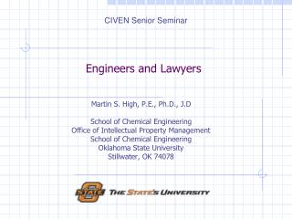 Engineers and Lawyers