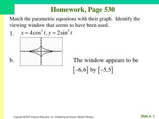 Homework, Page 530