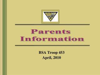 Parents  Information