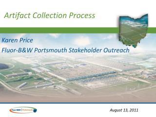 Karen Price Fluor-B&W Portsmouth Stakeholder Outreach