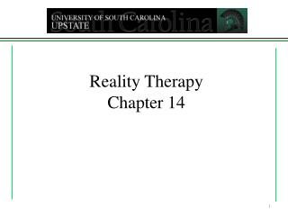 Reality Therapy Chapter 14